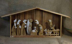 Скульптури ручної роботи  Вертеп