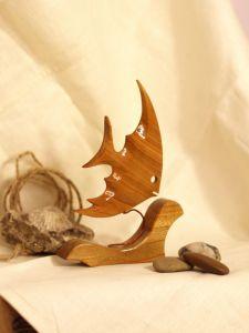 Скульптури ручної роботи  Рибка