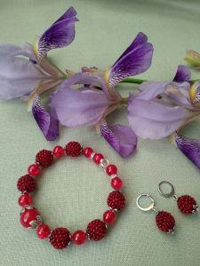 Червоний браслет Маків цвіт