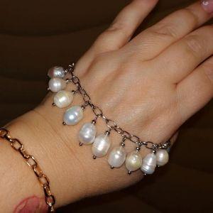 """Браслети ручної роботи Браслет з перлами """"Поліна"""""""