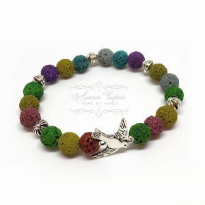 "Bracelets Браслет ""Ластівка"" (лава)"