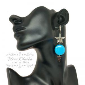 "Earrings Сережки ""Ірма"""