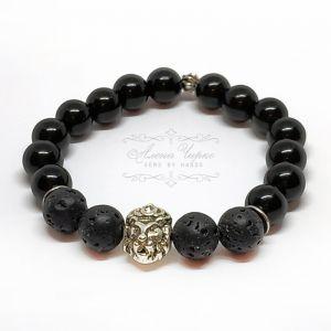 "Bracelets Браслет унісекс ""Лев"" (лава)"