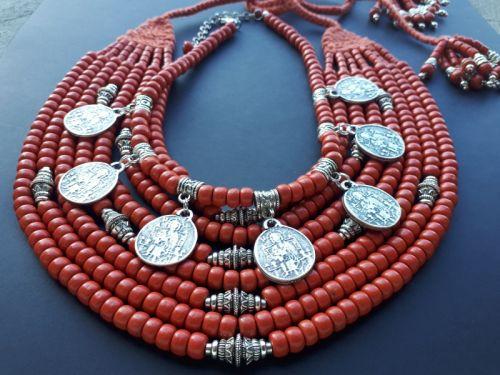 """Ожерелье """"Украинские традиции"""""""