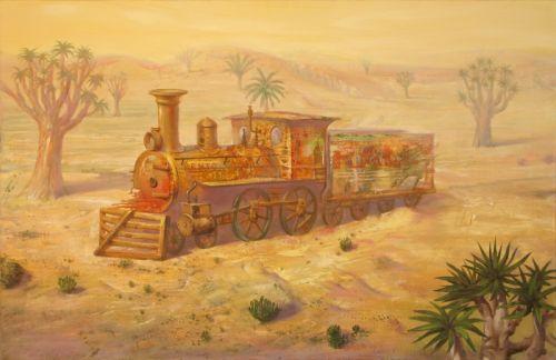 Утро в пустыне