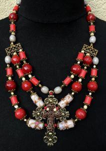 Ожерелье из рубеллита Ожерелье 23