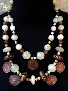 Ожерелье из меди Ожерелье 27