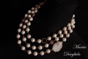 Намисто з перлами  Мадам Коко