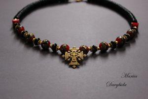 Ожерелье из коралла Дзвинка