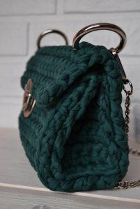 Женские сумки ручной работы Изумрудный клатч