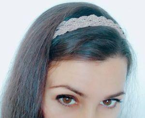 Обручі для волосся ручної роботи Плетений ободок