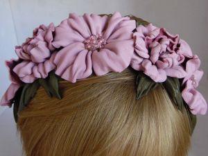 Обручі для волосся ручної роботи Обруч Красуня