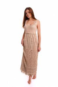 Платья ручной работы Платье Ажурные шотландские узоры