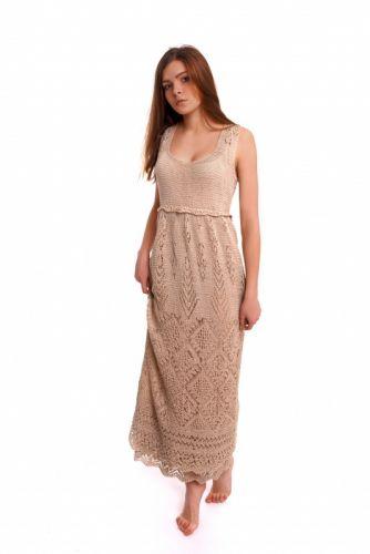 Платье Ажурные шотландские узоры