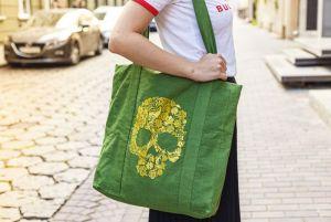 Еко сумка ручної роботи Сумка-шопер Calavera El Dorado