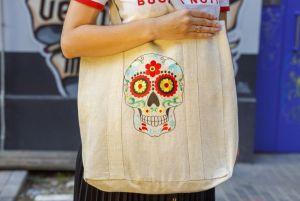 Еко сумка ручної роботи Сумка-шопер Calavera Diego