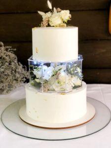 Кондитерские изделия ручной работы Торт свадебный