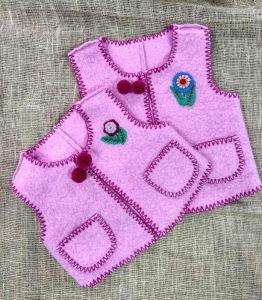 "Embroidered apparel - Children Кептарик ""Квіточка"""