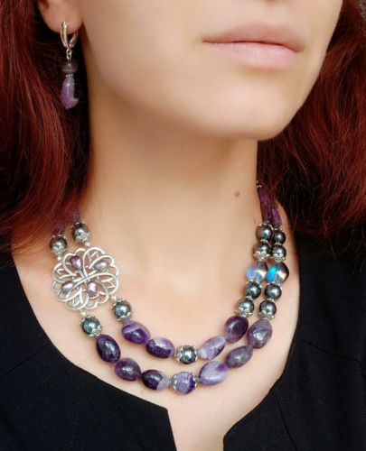 """Ожерелье """"Роскошный вечер""""  - изображение 1"""