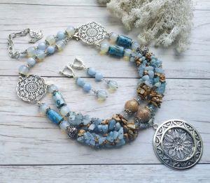 """Jewelry Комплект """"Гармонія у спокої"""""""