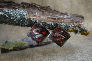 Серебряные украшения Серьги