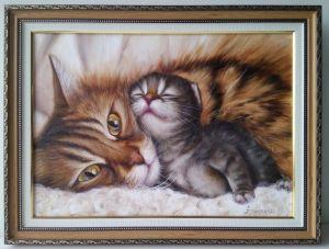 Ермолаева Олеся С мамой