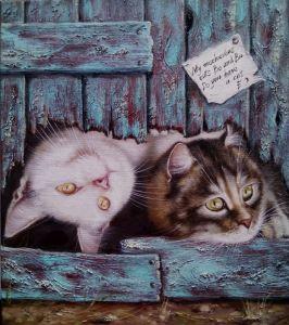 Ермолаева Олеся Два кота