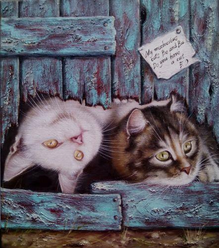 Два кота - изображение 1