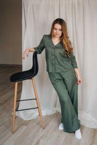 Єрьоменко Анастасія Жіночий костюм з натурального льону
