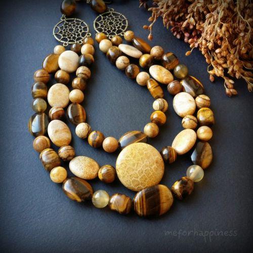 Ожерелье Осенний день