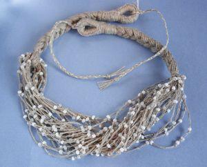 Ожерелье из бисера Кораллы женские Морозные капли