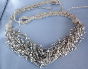Ожерелье из бисера Кораллы женские Морочное косы