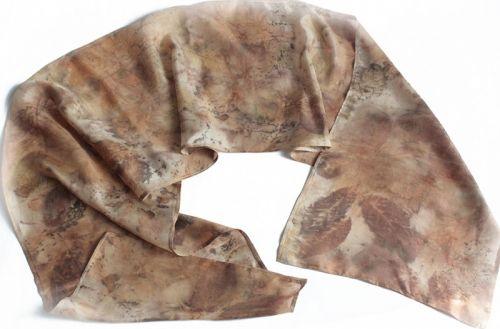 Шелковый шарф Ветер леса