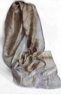 Шелковый шарфик Лесной букет