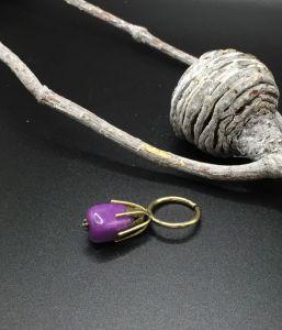 Кольца ручной работы Кольцо с агатом