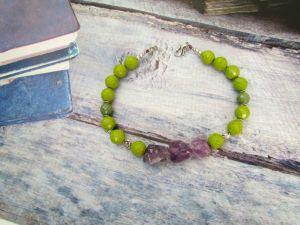Ожерелье из керамики Осенние фантазии (6)