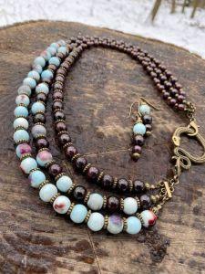 Ожерелья и колье ручной работы Змиев секрет