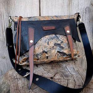 Жіночі сумки ручної роботи Шкіряна сумка «Metamorphose»