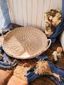 Подносы ручной работы Плетеный поднос