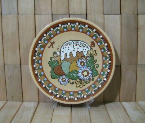 """Пасхальная настенная тарелка """"Паска"""", 21,5 см"""