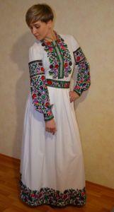 Borshchivyanka etno style Костюм Летние Краски