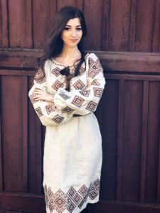Вышитые платья Платье Ромбы Традиционное