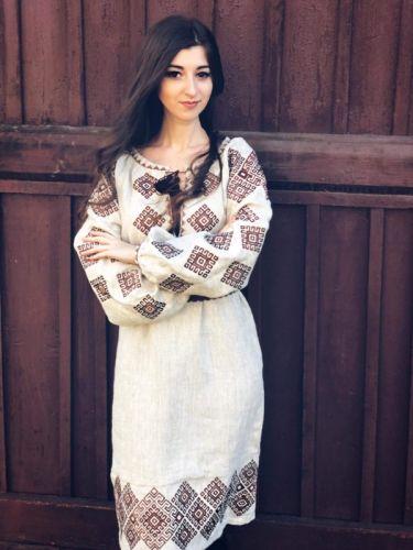 Платье Ромбы Традиционное