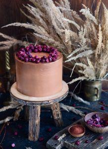 Праздничные Торт Шоколад/Вишня
