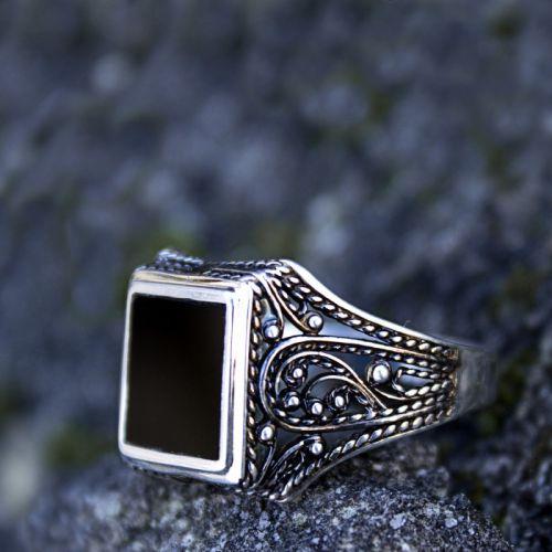 """Срібний перстень унісекс """"Храм Серця"""""""