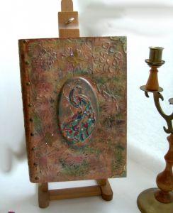 Деревянные шкатулки ручной работы Книга-шкатулка Сказочный сад
