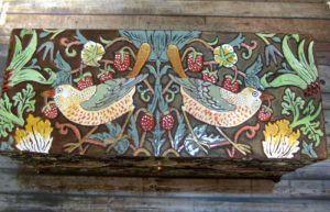 Ornamental boxes Міні-комодик Птахи