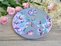 Настенная тарелка декоративная