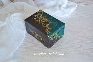 Деревянные шкатулки ручной работы Шкатулка для украшений и мелочей