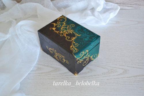 Шкатулка для украшений и мелочей